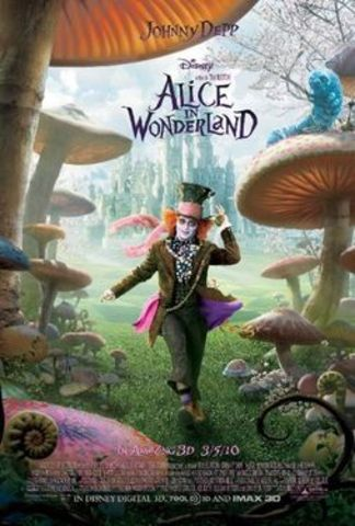 Alice in Wonderland 3D is released.