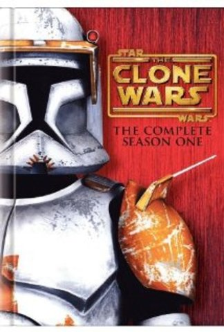 Star Wars: the Clone Wars animated series season 1 DVD