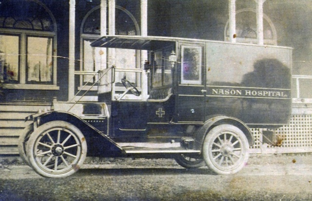 The Worlds first Ambulance