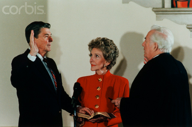 Reagan Inaugurated