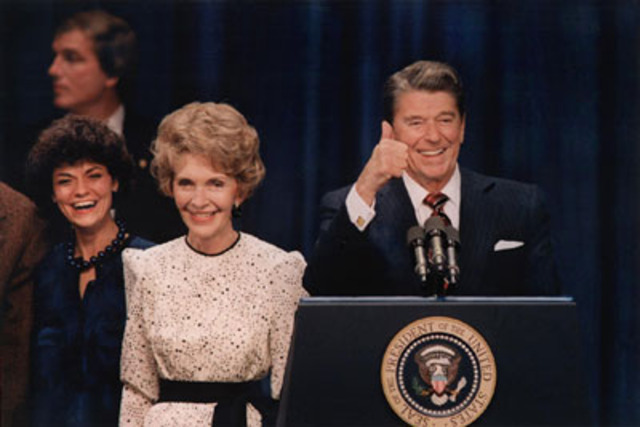 Reagan Reelected