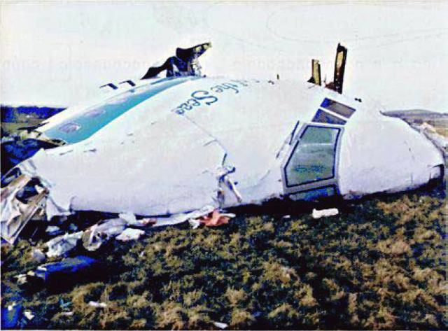 Pan Am Crash in Lockerbie, Scotland