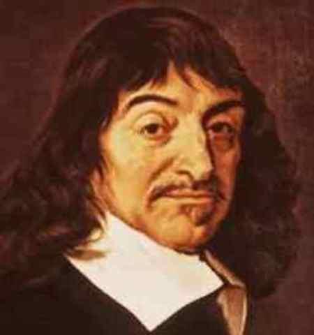 """Descartes escribe """"Discurso del Método"""""""