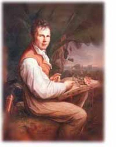 Alexandre Von Humboldt y  sus exploraciones