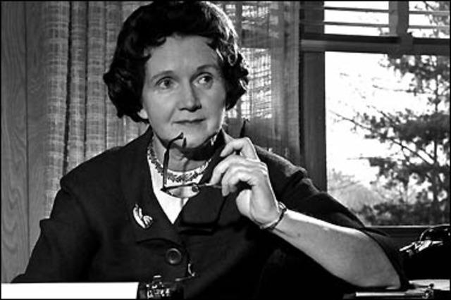 Rachel Carson y los pesticidas