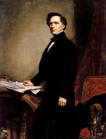 Franklin Pierce elected President.