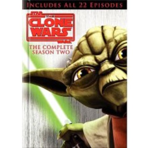 Star Wars: The Clone Wars Season 2 DVD