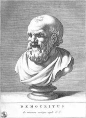 Early Greek models- Democritus