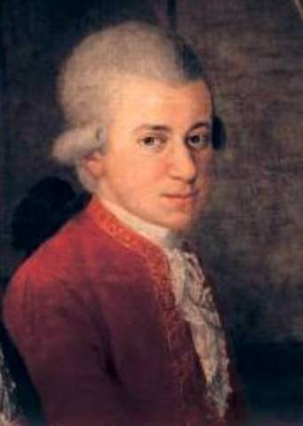 Mozart is Born
