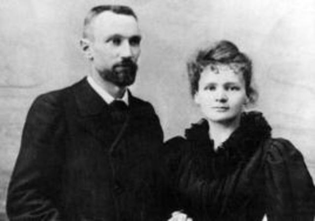Marie and Pierre Curie (1867 & 1856)