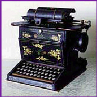 Evolution of the Typewriter timeline