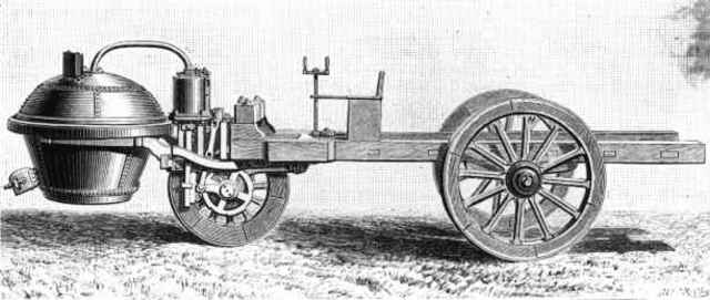 First self running automobile created