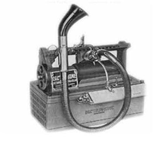 In 1916 Edison Renamed His Phonograph With A Few Modifications The Main Improvement Was Paraffin Coated Cylinders Used For Recording