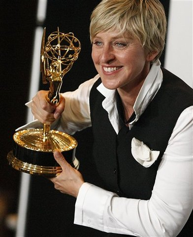 Ellen Hosts The Emmy's