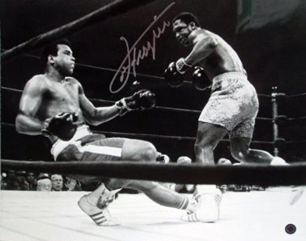 Ali losses to Joe Frazier