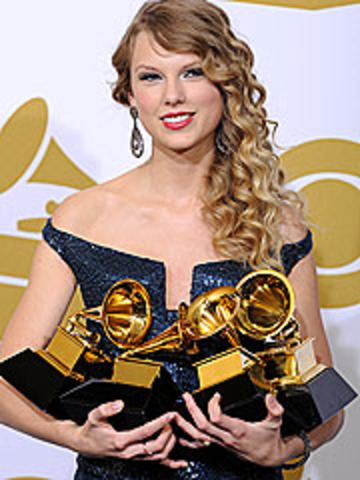 Taylor Swift wins at the Grammys