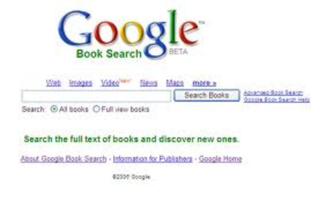 Bibliotecas Google