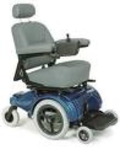 George Klein: Electric Wheelchair