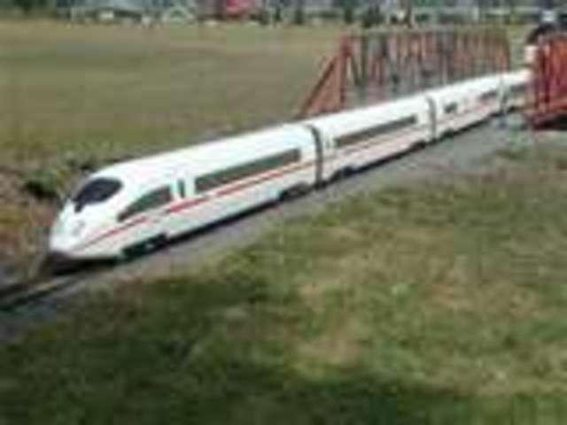 Germany Creates Their Own Super Train