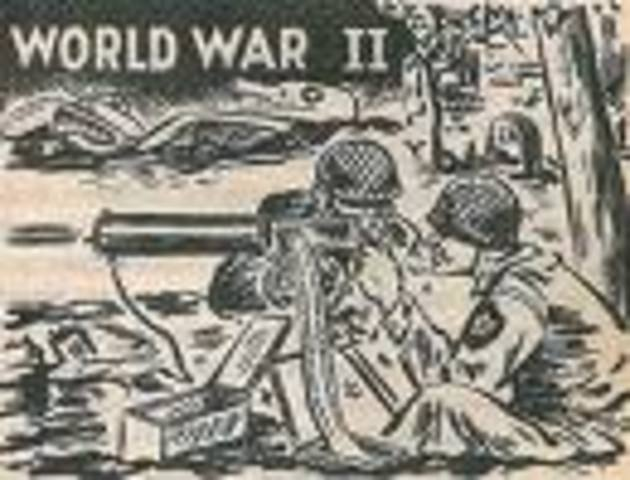 WW II starts
