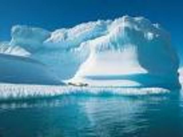 First picture of the North Pole