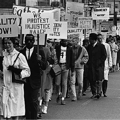 Civil Rights Protests- Amber White timeline