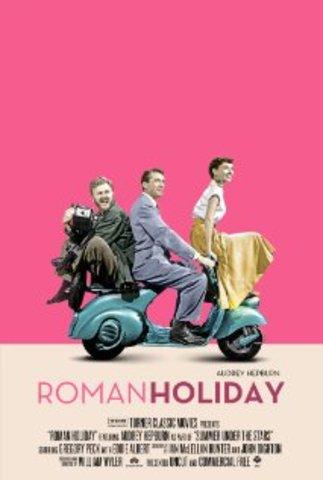 Roman Holiday ( Audrey Hepburn)