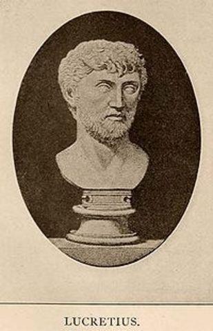 Lucrrecio (99 a de C.- 55 a. de C)