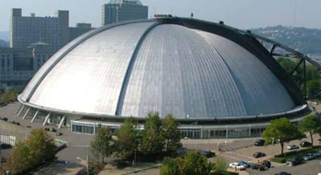 Arena Bowl 1 played at Civic Arena