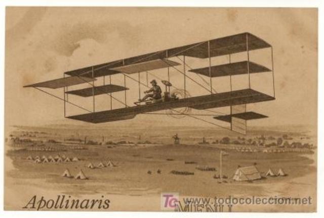 Invencion de el aeroplano
