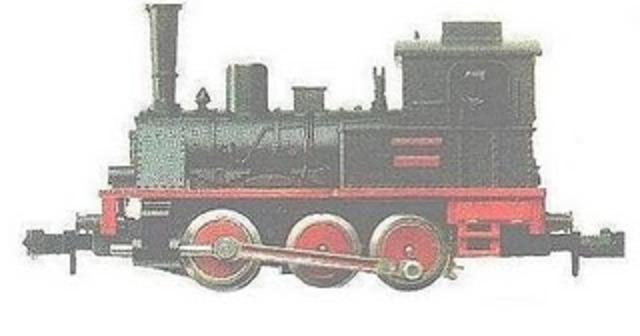 locomotora de vapor: