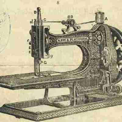 History of the sewing machine! timeline