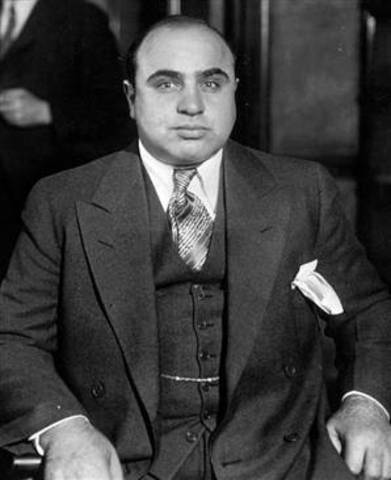 Al Capone became the boss of the Chicago Outfit