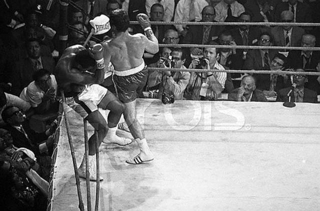 Due to a loophole Muhammad Ali returns to boxing to knock out Jerry Quarry