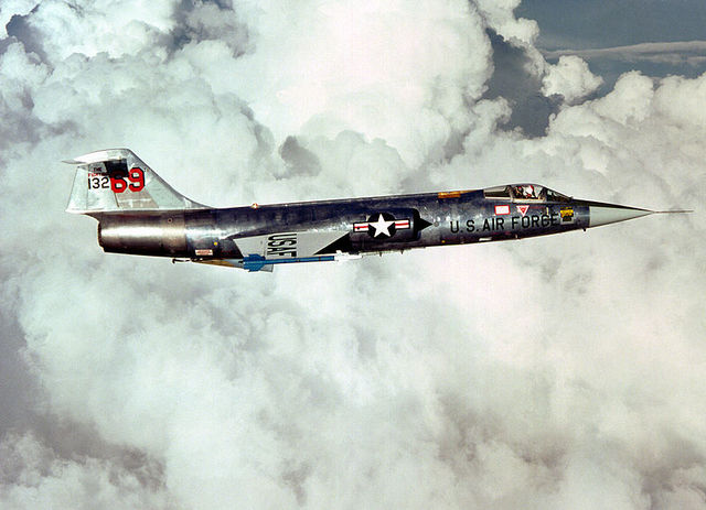 Lockheed F-104 Starfighter Built