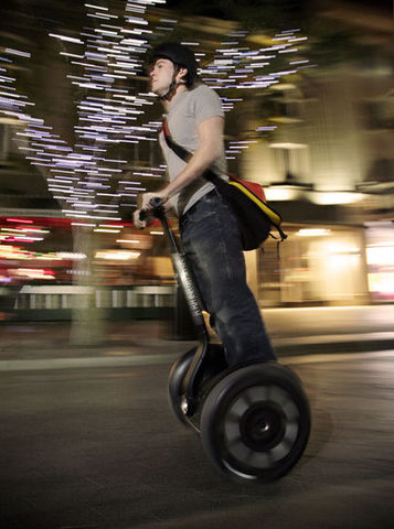 First Segway Unveiled