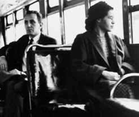 what happened when rosa parks was on the bus