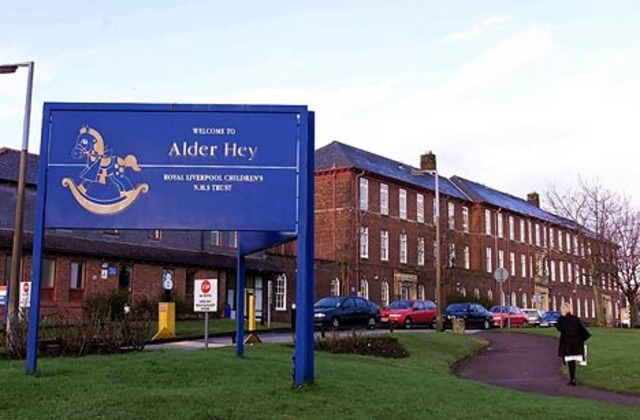 First neonatal surgical unit, Alder Hey Children's Hospital, Liverpool