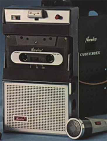 Philips Compact Casette and Norelco Carrycorder