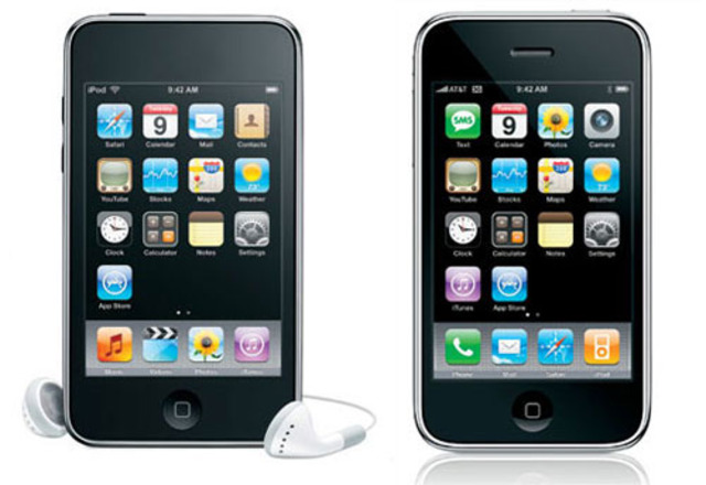 Iphone and Ipod Touch