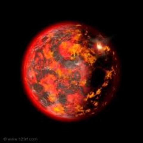 (4 BYA) Fully Formed Earth