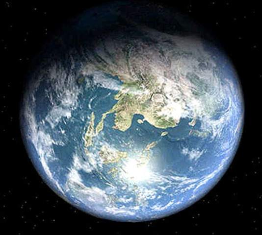 (2.2 billion years ago) Our earth