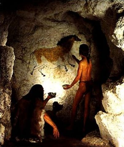 Cro Magnon-40,000 Years Ago