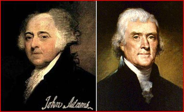 Adams vs. Jefferson, election of 1796
