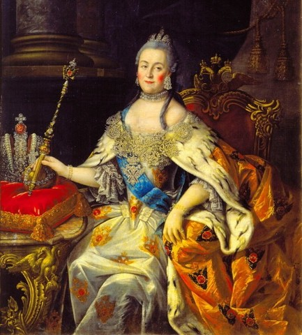 Death of  Empress Elizabeth