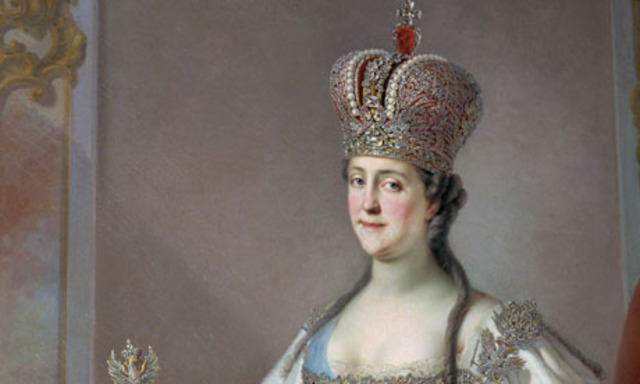 Catherine crowned