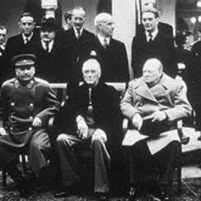 Important Yalta Confernce and Cold War Dates timeline