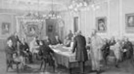 British North American Act . timeline