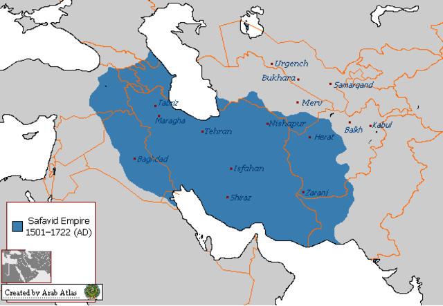Beginning of Safavid Empire