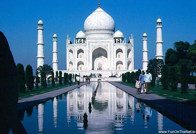 Production of the Taj Mahal
